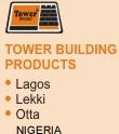 Tower building products Lagos, Likki, Otta, Nigeria